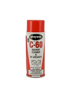 Sprayway C-60 Solvent Cleaner & De-Greaser
