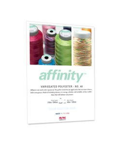 Affinity Color Card
