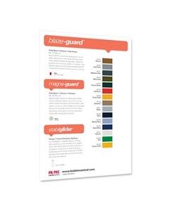Blaze-Guard Color Card