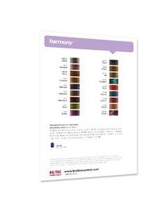 Harmony Color Card