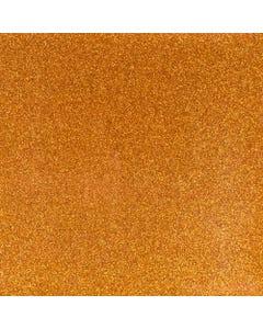 Glitter Mirror Canvas Vinyl - Orange - 60614