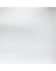 Glitter Mirror Canvas Vinyl - White - 60636