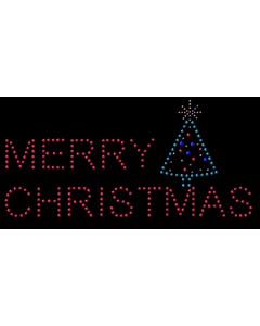 Rhinestone Heat Transfer Design - Merry Christmas - 60431