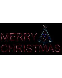 Rhinestone Heat Transfer Design - Merry Christmas