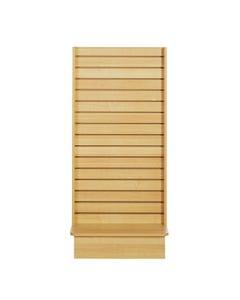 Wooden Floor Display Frame - Empty - Maple
