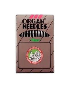 Organ: 80/12, Cool Sew, Round Shank, Sharp, Teflon