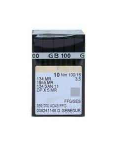 Groz-Beckert: 134 SAN 11, 100/16, MR 3.5, FFG, Titanium,