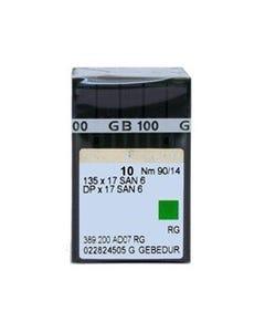 Groz-Beckert: 135x17, GEBEDUR, 90/14, RG, Titanium - 60062N