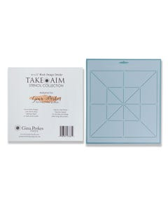 Gina Perkes Designs Take Aim Large Block Stencil - 60815