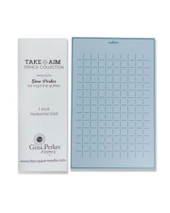 Gina Perkes Designs Take Aim 1'' Grid Stencil - 60818