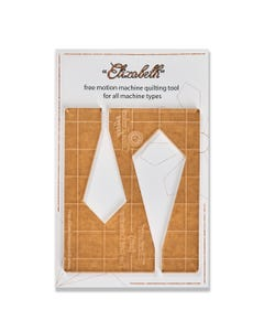 Gina Perkes Designs Elizabeth Small Quilting Ruler - 60828