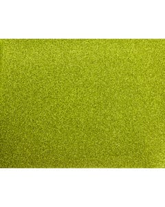 Glitter Mirror Canvas Vinyl - Green Apple - 60860