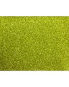 Glitter Mirror Canvas Vinyl - Green Apple