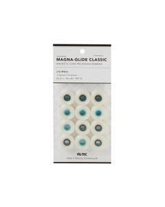 Magna-Glide Classic - 12 Pack - Style L White - 60372