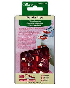 Clover Wonder Clips - 50 pk - 60874