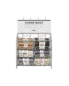 Clear-Quilt Class L Bobbins Basic Colors Display - 13188