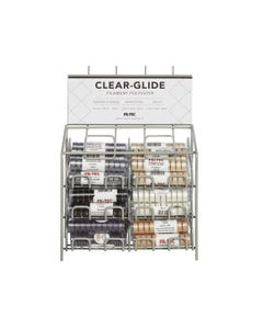 Clear-Glide Style L Bobbins Basic Colors Display - 13189